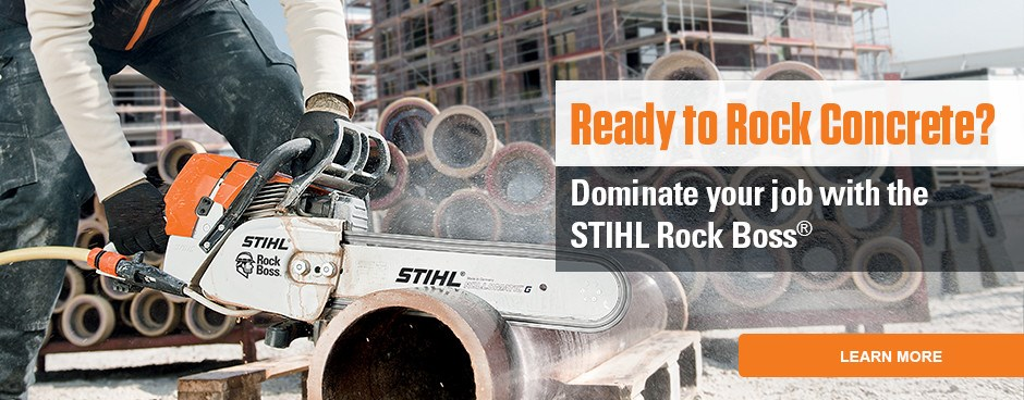 GS 461 STIHL ROCK BOSS